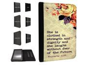732 - Bible Quote She is Clothed in strenght and dignity and