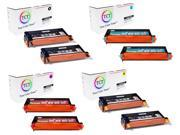 TCT 8 Pack Replacement Toner Cartridge Set for the Xerox 6180 series (113R00726, 113R00723, 113R00724, 113R00725 ) works with the Xerox Phaser 6180, 6180N, 6180