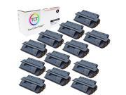 TCT Premium Compatible C4127X High Yield Black Toner Cartridge 12 Pack for the HP 27X series - 10K yield- works with the HP LaserJet 4000 and 4050 printer serie