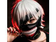 Cool Tokyo Ghoul Kaneki Ken  Mask Cosplay Adjustable w/zipper PU Leather New 9SIABV14VP0615
