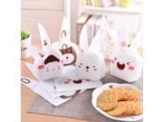 20 Pcs Bake Packing Bag Plastic Biscuit Cookie Candy Bag Souvenir Gift Valve Bag