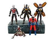 Super Hero The Avengers Ant-Man Antony Wasp Giant-Man Cross 11cm Figure 5pcs 9SIABV14VP0542