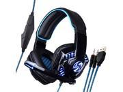 Noswer I8 LED Stereo Over-ear Headphone Headband Gaming Headset With Microphone For Gamer Movie Music 9SIABV75415642