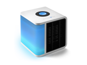 evaLIGHT 3 in 1 Air Cooler, Air Filter, and Humidifier - White