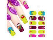 5pcs × Nail Art Water Transfer Wraps Stickers Beautiful Decals DIY Tips Decoration