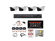 MX4HBC 2TB 4CH 3MP HD TVI ALL IN ONE COMBO 4CH HYBRID DVR 4pcs 3MP TVI MOTORIZED BULLETS POWER AND CABLES