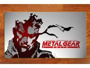 Metal Gear Solid one photo paper game poster 15 * 27 inches MGS001