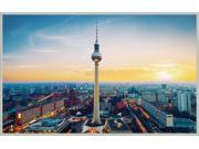 Berlin TV Tower photo paper Poster Print 20 * 32 inches OC1610060617