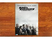 FF77F Movie Poster Furious 7 original HD Posters Prints 20 * 28 inches