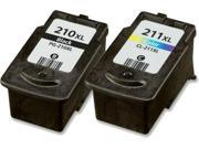 AIM Compatible Replacement - Canon PG-510/CL511 Inkjet Combo Pack (Black/Color) - Generic