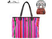 MW351G 9317 Montana West Serape Concealed Handgun Collection Handbag Pink