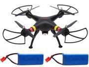 Syma X5C-PRO X8C Venture Big Quadcopter Drone Airplane w/ 2MP HD Camera+2Battery