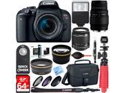 Canon EOS Rebel T7i DSLR Camera with EF-S 18-55mm IS STM & 70-300mm Lens Accessory Kit