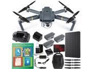 DJI Mavic Pro Quadcopter Drone Combo Pack + Professional Photo & Edit Bundle