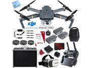 DJI Mavic Pro 4K Camera Quadcopter Drone 2 Extra Batteries Super Pack