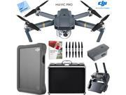DJI Mavic Pro Quadcopter Drone with 4K Camera, Custom Hard Case, 2TB Fly Drive Kit