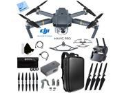DJI Mavic Pro Quadcopter Drone with 4K Camera and Wi-Fi Custom Case Accessories Kit