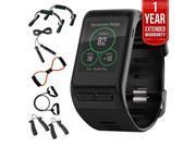 Garmin Vivoactive HR GPS Smartwatch, X-Large Fit (Black) w/ Fitness Bundle