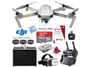 DJI Mavic Pro Platinum Quadcopter Drone +  32GB MicroSD and 3 Free Months Netflix