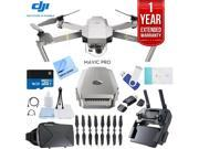 DJI Mavic Pro Platinum Quadcopter Drone + 1 Year Extended Warranty Kit