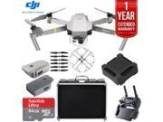 DJI Mavic Pro Platinum Quadcopter Drone + 1 Year Extended Warranty 64GB Kit