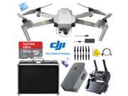 DJI Mavic Pro Platinum Quadcopter Drone 4K Camera Wi-Fi +Ultimate 2nd Battery Bundle
