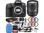 Nikon D810 FX-format Digital SLR Camera 24-120mm f/4G ED VR AF-S NIKKOR Lens Kit 9SIAC4Z6R03439