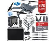 DJI Mavic Pro Quadcopter Drone with Hard Case, 64GB microSD, and Accessories Kit