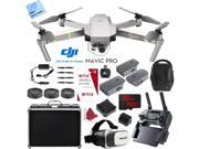 DJI Mavic Pro Platinum 4K Camera Quadcopter Drone 2 Extra Batteries Super Pack