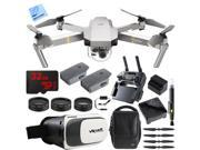 DJI Mavic Pro Quadcopter Drone w/ Camera & Wi-Fi +Virtual Reality Experience Kit
