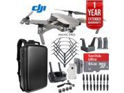 DJI Mavic Pro Platinum Quadcopter Drone Dual Battery 64GB Kit