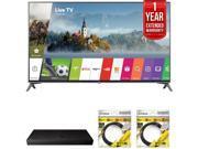 LG 60 Super UHD 4K HDR Smart LED TV 2017 Model with Warranty + Blu Ray Bundle 9SIAC4Z6Z55331