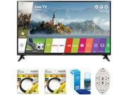 LG 49 Class Full HD Smart LED TV 2017 Model 49LJ5500 with Cleaning Bundle 9SIAC4Z6Z55534
