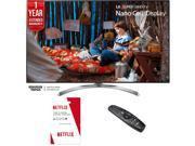 LG SUPER UHD 55 4K HDR Smart LED TV (2017 Model) w/ Netflix + Extended Warranty 9SIAC4Z6Z55202