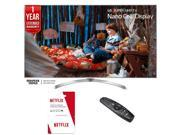 LG 55SJ8000 SUPER UHD 55 4K HDR Smart LED TV (2017) w/ Netflix + Extended Warranty 9SIAC4Z6Z55478
