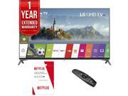 LG 60 Super UHD 4K HDR Smart LED TV (2017 Model) w/ Netflix + Extended Warranty 9SIAC4Z6Z55382