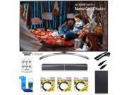 LG 55 Super UHD 4K HDR Smart LED TV 55SJ8500 w/LG SJ7 Wireless Sound Bar Bundle 9SIAC4Z6Z55549