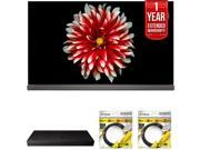 LG 65 OLED TV 4K HDR Smart TV 2017 Model with Warranty + BlueRay Bundle 9SIAC4Z6Z55442