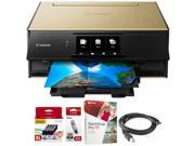 Canon PIXMA 9120 Wireless All-In-One Printer Gold + Paint Shop Pro X9 Bundle