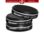 Deco Gear Filter Kit (CPL+ND4+ND8) For Camera on the Mavic Air Quadcopter Drone
