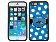 Coveroo 875 8480 BK FBC Orlando Magic Polka Dots Design on iPhone 6 6s Guardian Case