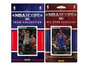 CandICollectables 2014SPURSTS NBA San Antonio Spurs Licensed 2014 15 Hoops Team Set Plus 2014 15 Hoops All Star Set