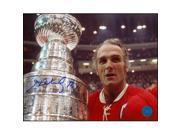 AJ Sports World RICH105027 HENRI RICHARD Montreal Canadiens SIGNED 8x10 Stanley Cup Photo 9SIAC564ZT4096