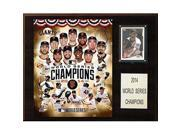 CandICollectables 1215WS14 MLB 12 x 15 in. San Francisco Giants 2014 World Series Champions Plaque 9SIAC564ZW9018