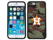 Coveroo 875 7268 BK FBC Houston Astros Traditional Camo Design on iPhone 6 6s Guardian Case