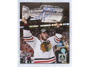 AJ SportsWorld TOEJ10102B Jonathan Toews Chicago Blackhawks Autographed 2013 Stanley Cup 8 x 10 Photo 9SIAC564ZV1829