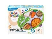 Learning Resources LRNLER7711 New Sprouts Munch It Play Food Set 20 Per Set