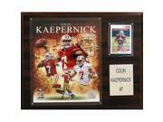 CandICollectables 1215KAEPERN NFL 12 x 15 in. Colin Kaepernick San Francisco 49ers Player Plaque 9SIA00Y51U3657