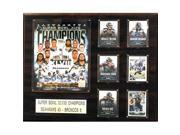 CandICollectables 1620SB48 NFL 16 x 20 in. Seattle Seahawks Super Bowl XLVIII Champions Plaque 9SIA00Y51U3792