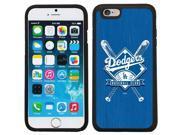 Coveroo 875 6760 BK FBC LA Dodgers Bats Design on iPhone 6 6s Guardian Case